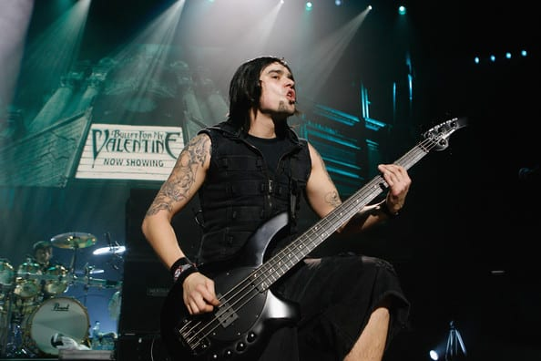 Bullet For My Valentine Part Ways With Bass Player Jason