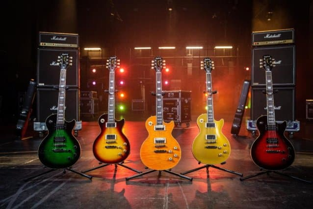 slash epiphone guitars, SLASH And EPIPHONE Announce The 'Slash Collection'