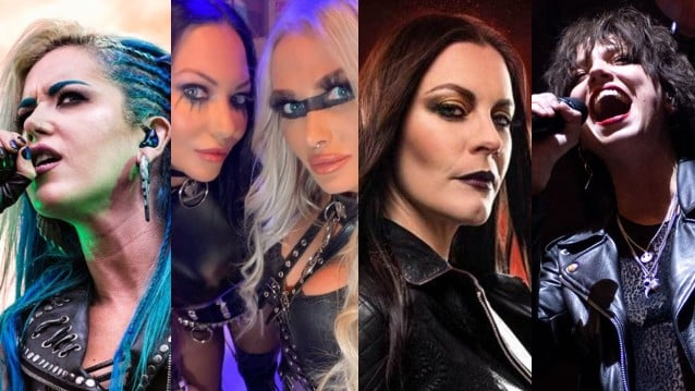 The TOP 13 FEMALE FRONTED  HEAVY METAL Bands Of All Time As Voted By You